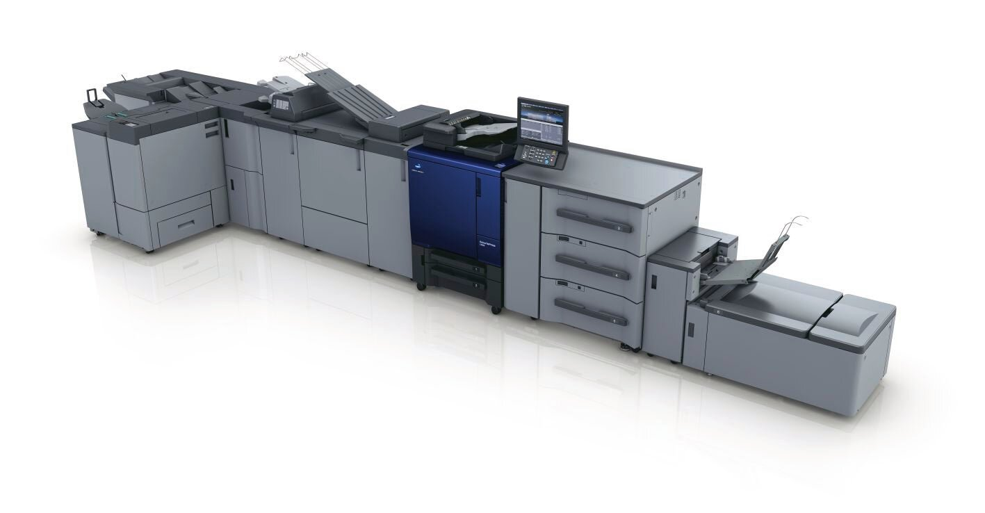 Konica Minolta accurio press c3080 produksjonsprinter