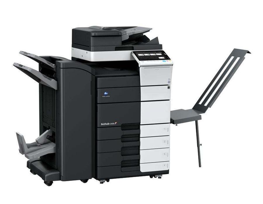 Konica Minolta bizhub c658 multifunktionsprinter