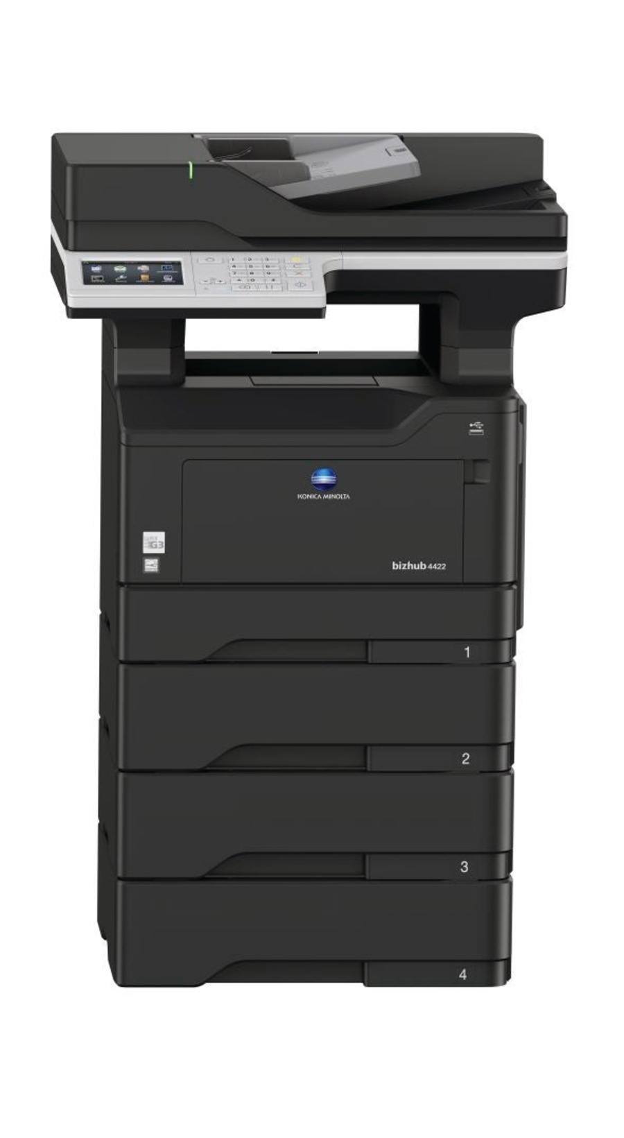 Konica Minolta bizhub 4422 офисный принтер
