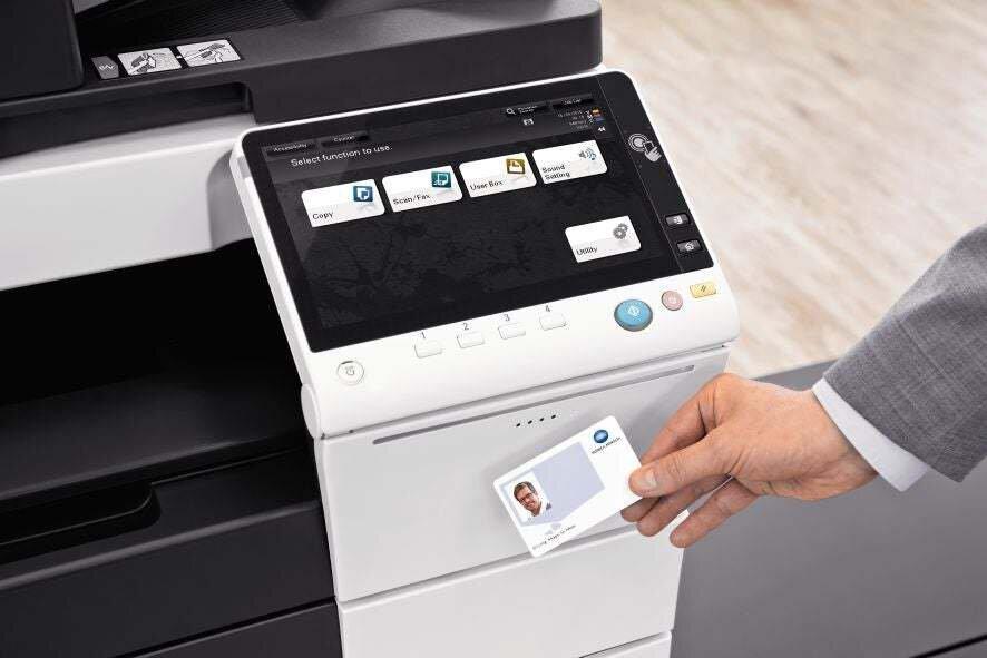 Imprimante de bureau KonicaMinolta business hubc458