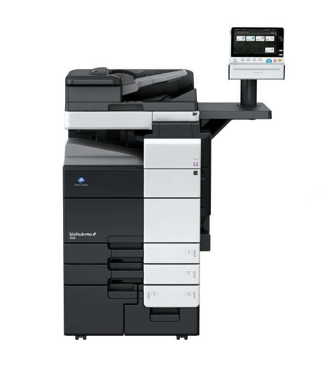 Profesjonalne urządzenie drukujące Konica Minolta bizhub pro 958