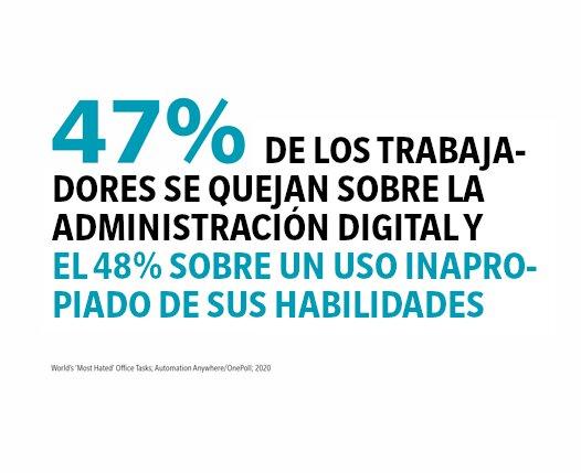 Quejas sobre administración digital