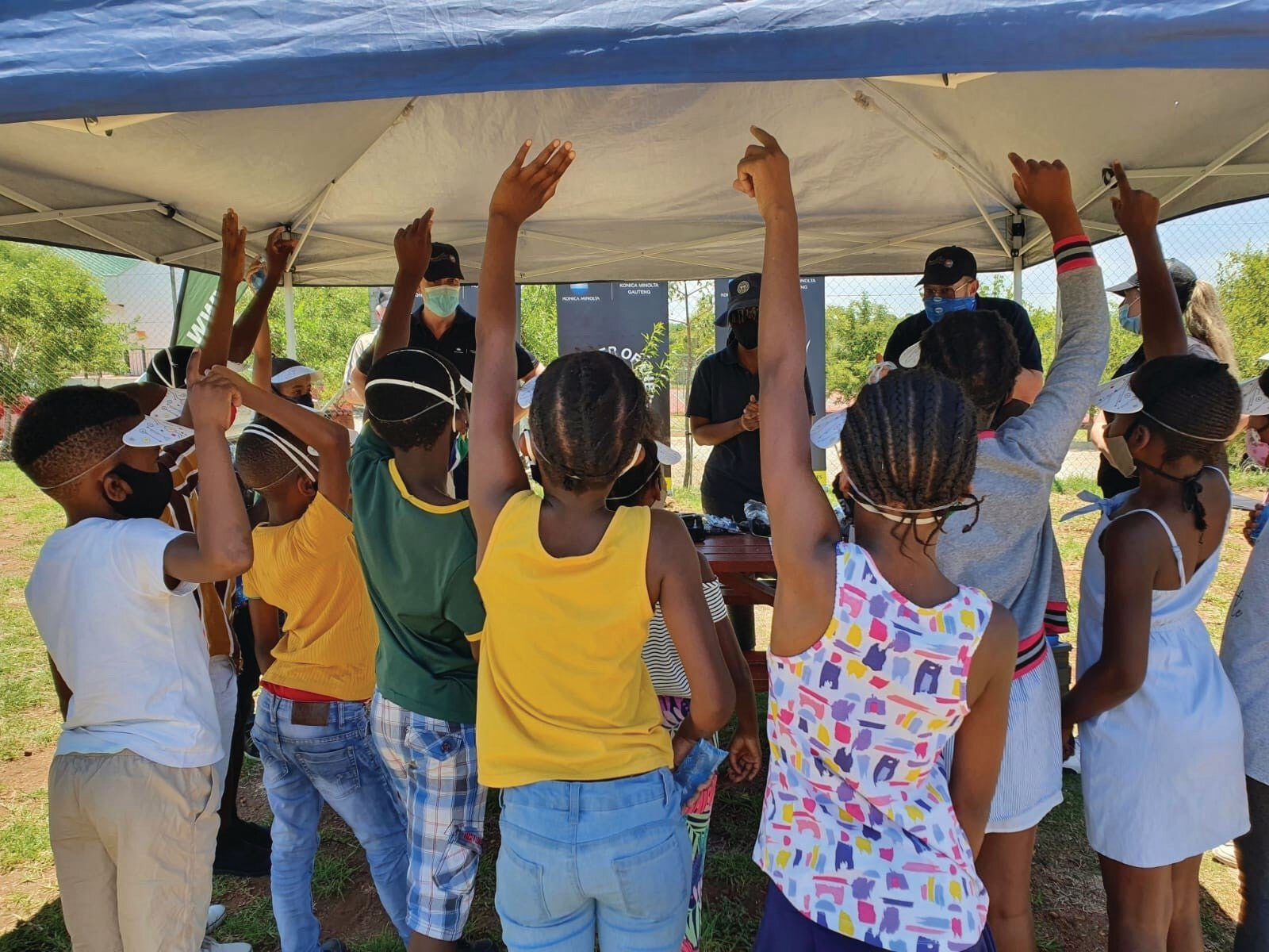 Konica Minolta grows ecological awareness at East Rand school
