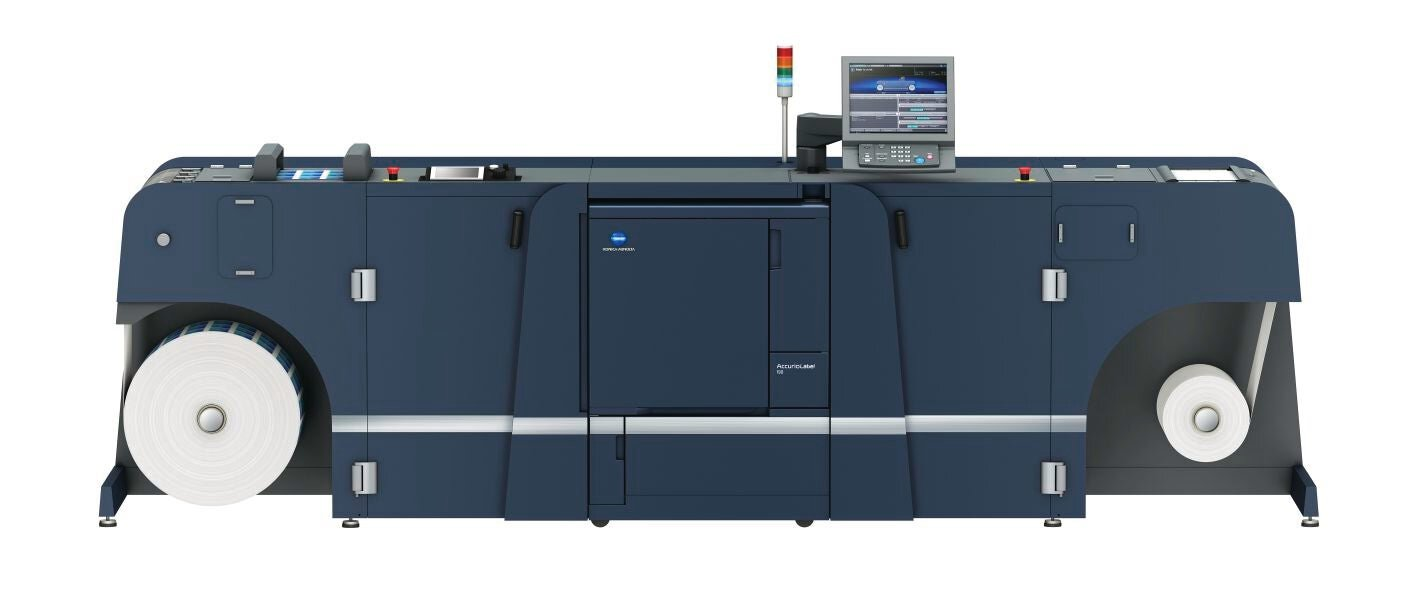 Konica Minolta accurio label 190 professional printer