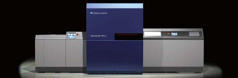AccurioJet KM-1e B2+ cu tehnologie inkjet UV