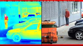 MOBOTIX Thermal Camera detects smoker