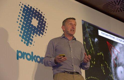 Mark Denton describing how his team were planning to face Hurricane Michael