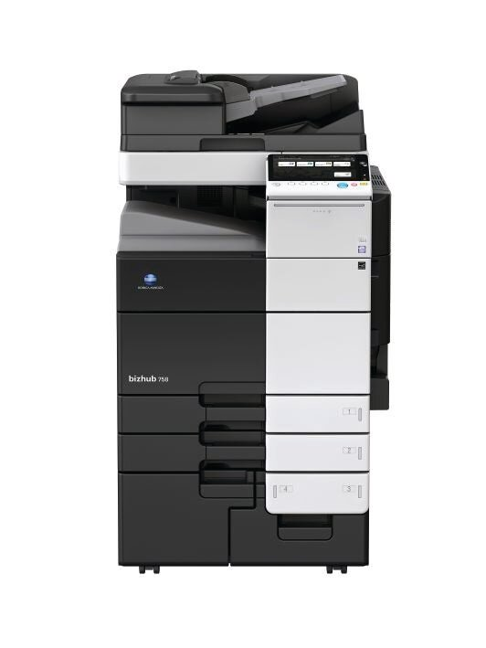Konica Minolta bizhub 758 multifunktionsprinter