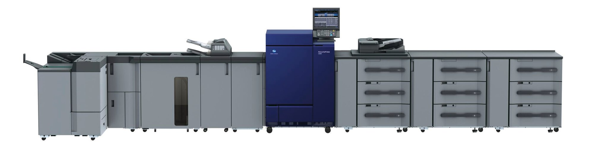 Konica Minolta accurio press c6085 produksjonsprinter