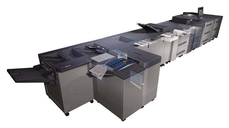 Konica Minolta accurio press 6136p professional printer