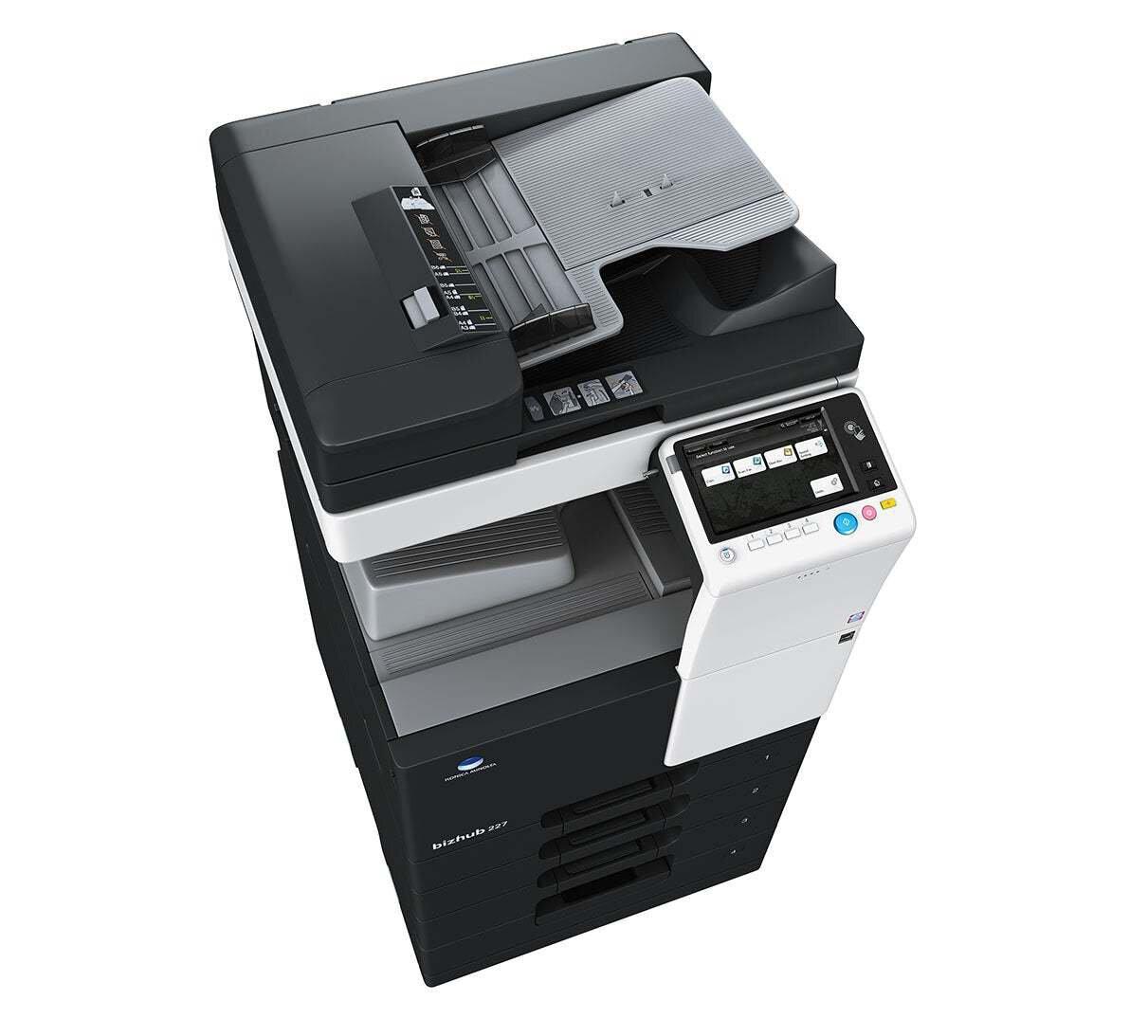 Konica Minolta bizhub 227 office printer