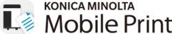 logotip Konica Minolta Mobile Print