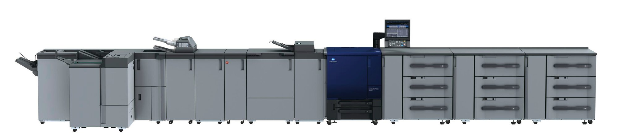 Imprimantă profesională Konica Minolta accurio press C3080P