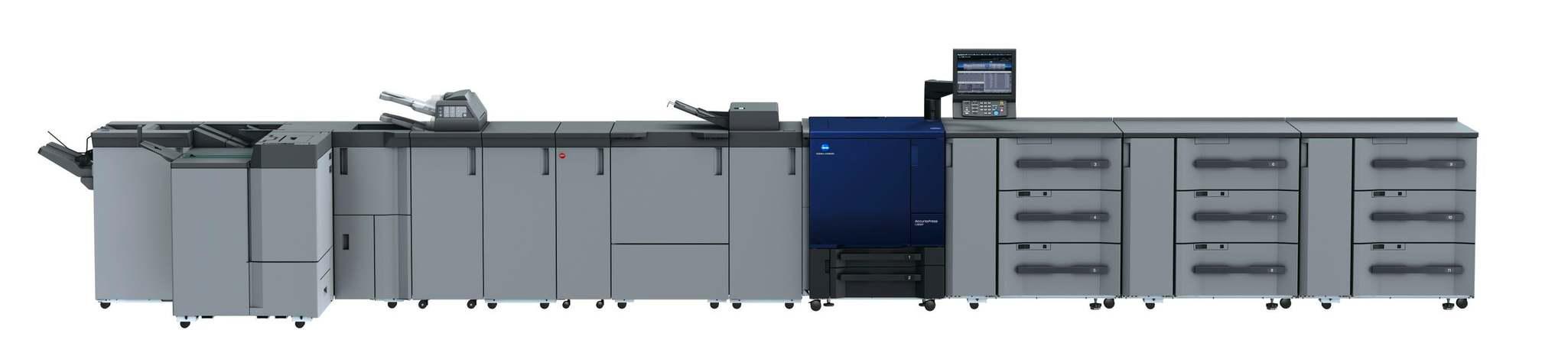 Profesjonalne urządzenie drukujące Konica Minolta accurio press c3080p