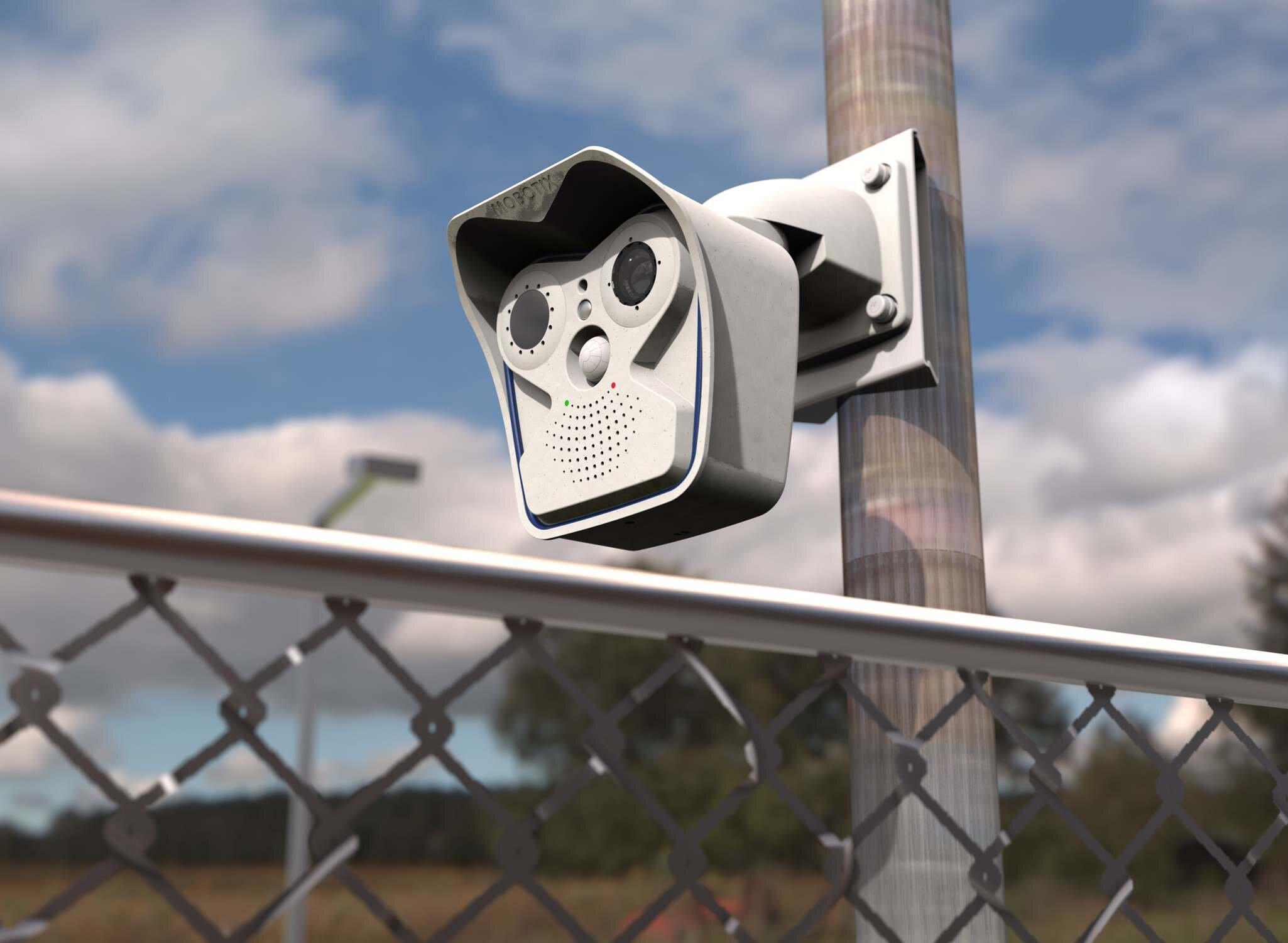 Тепловізійна інтелектуальна камера Mobotix