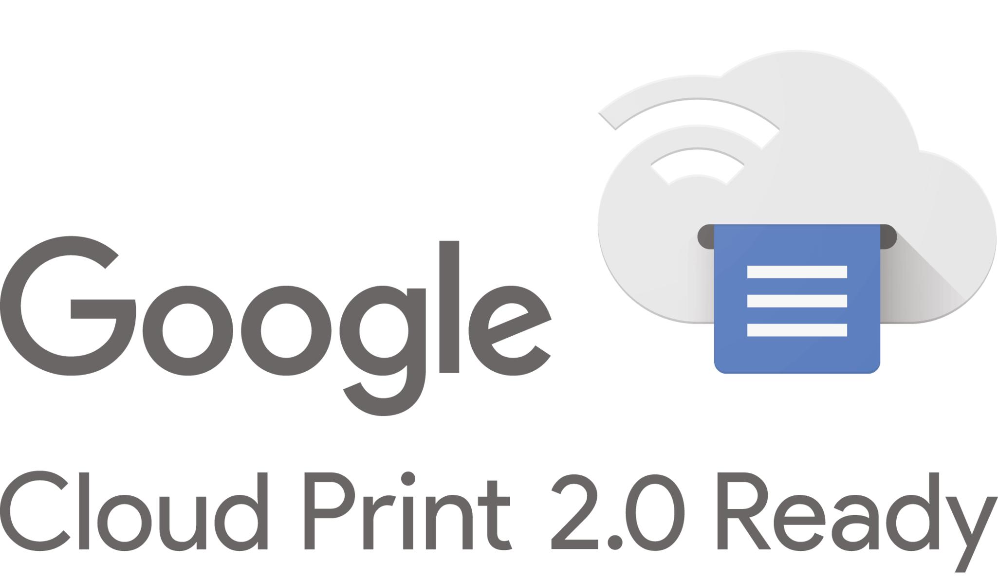 Google Cloud Print Icon