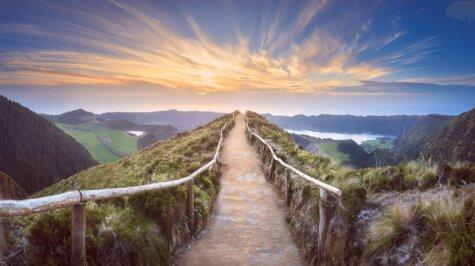 sustainability hiking trail