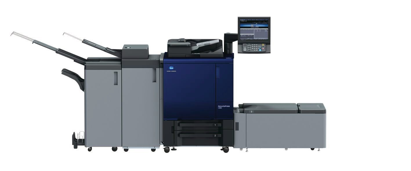Konica Minolta accurio print c3080 professional printer