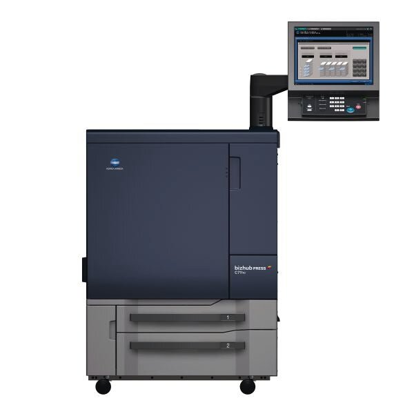 Konica Minolta bizhub press c71hc professional printer