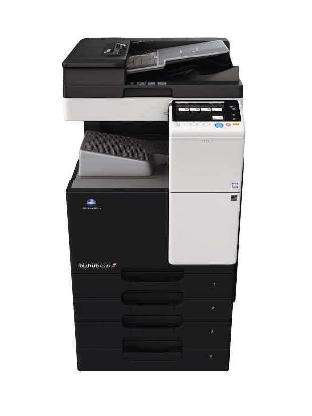 Konica Minolta bizhub c287 office printer