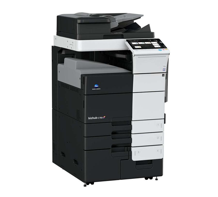 Konica Minolta bizhub c759 office printer