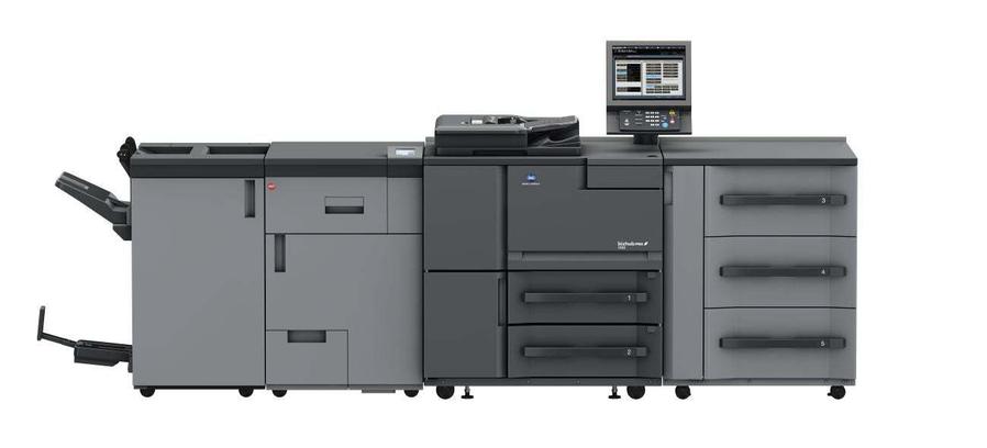Konica Minolta bizhub pro 1100 professional printer