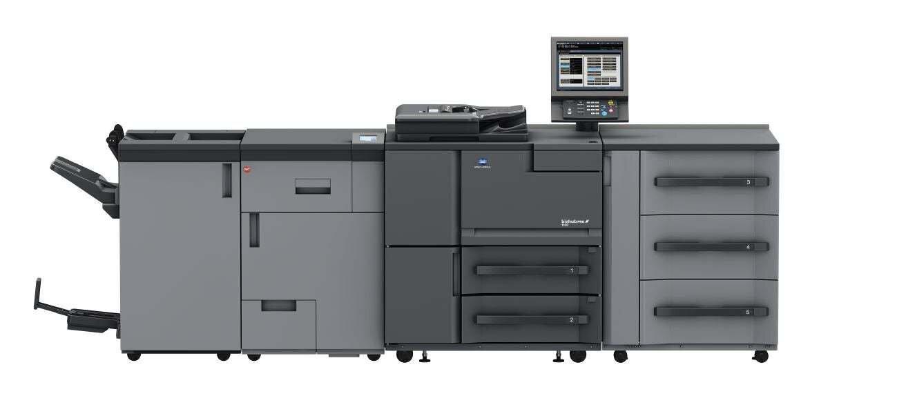 Професионален принтер bizhub pro 1100 на Konica Minolta