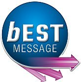 logotip za bEST Message