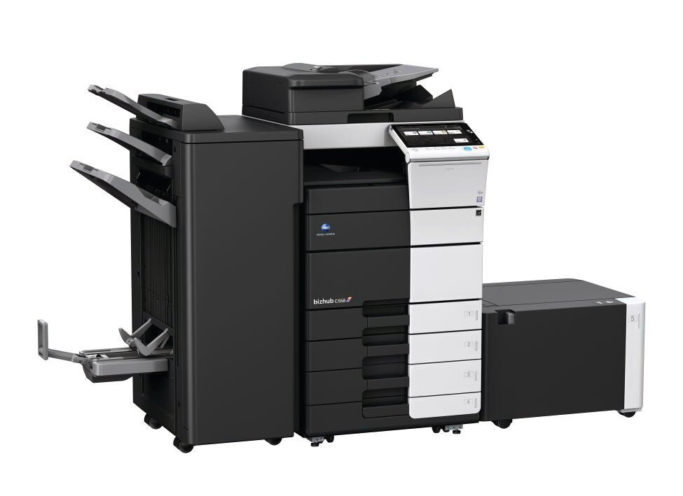Konica Minolta bizhub c558 office printer