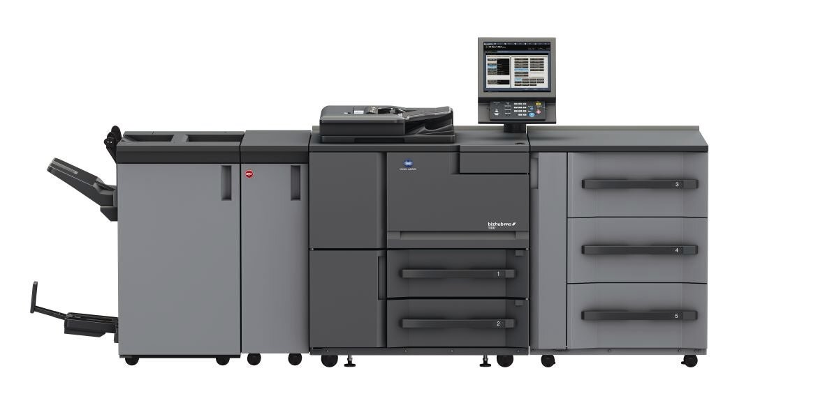 Profesjonalne urządzenie drukujące Konica Minolta bizhub pro 1100