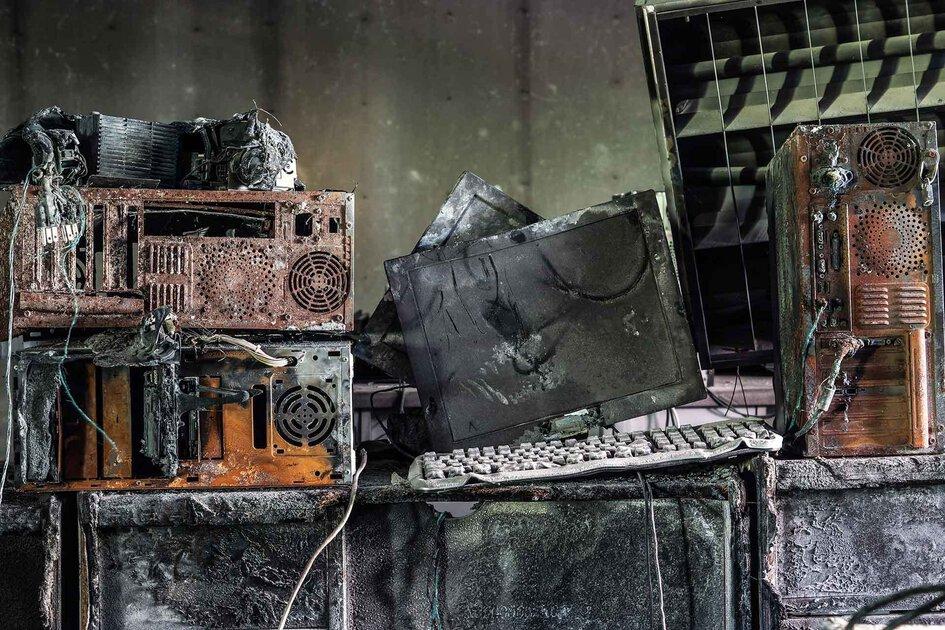 verbrannt hardware backup