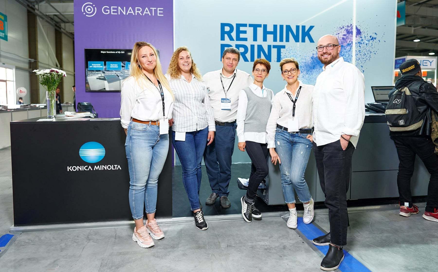Konica Minolta під час REX 2019