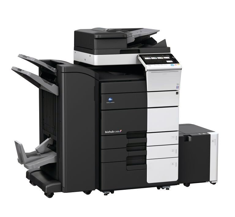 Konica Minolta bizhub c458 office printer