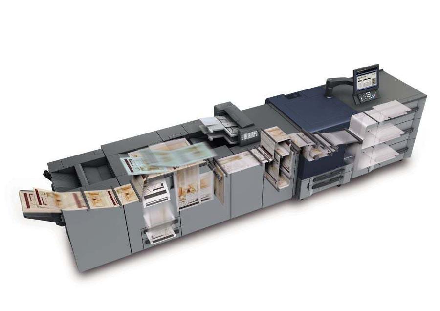 Konica Minolta bizhub press c71hc professional printer