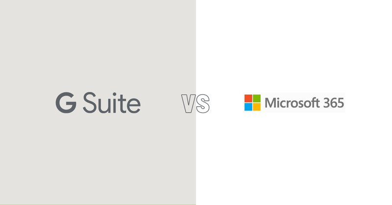 G Suite vs Microsoft 365