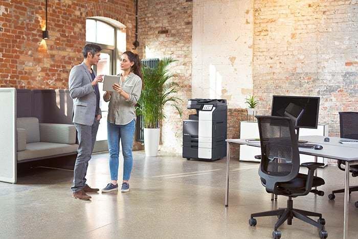 bizhub i-Serie in einer modernen Büroumgebung - Konica Minolta