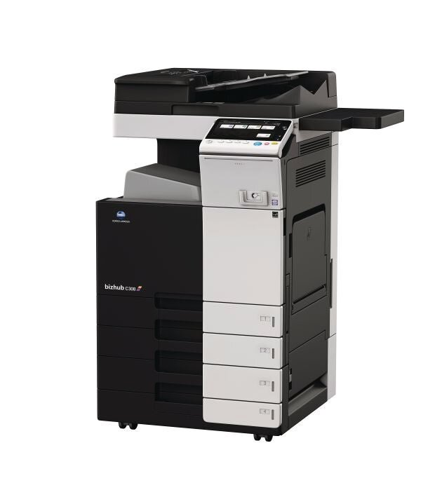 Konica Minolta bizhub c308 office printer