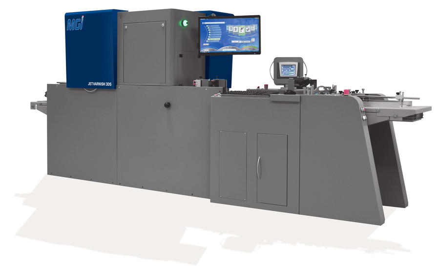 MGI Jetvarnish 3DS professional printer